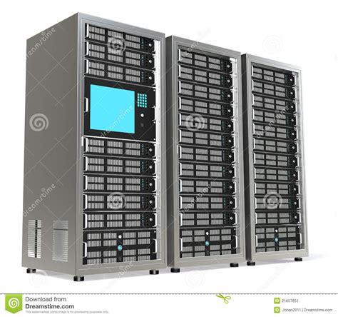 Rack Web Server Server Rack X3 Stock Image Image 21657851