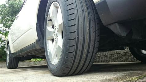 toyo proxes cf2 test toyo tires proxes cf2 suv 225 55r17 スバル フォレスター ほわいつの