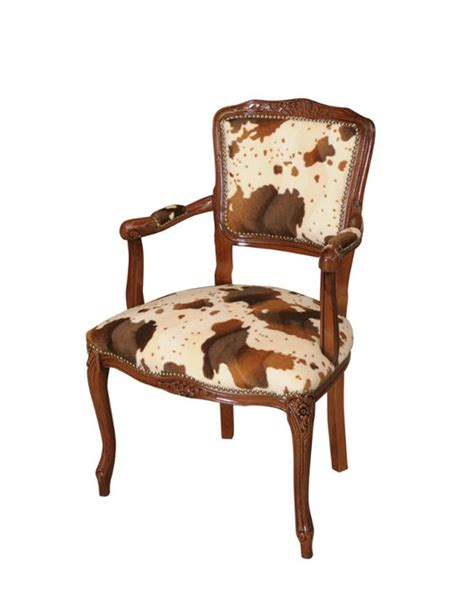 Cow Print Chair by