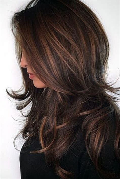 hairstyle ideas brunette 35 balayage hair ideas in brown to caramel tone balayage