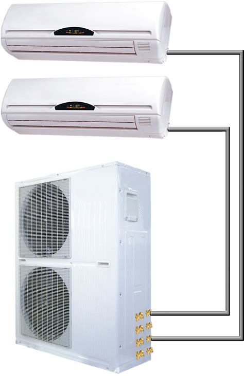 ductless mini split air conditioner 60000 btu dual zone 5 ton ductless mini split ac heat