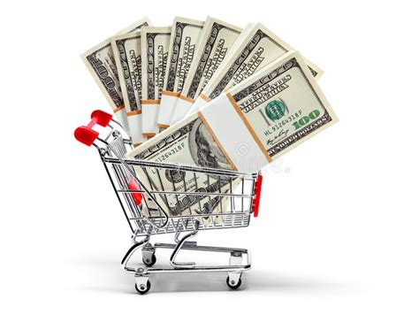 Are You Ready For Shopping by Ready For Shopping With Money Stock Image Image Of