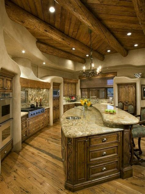 kitchen ideas dream home pinterest log cabin kitchen dream home pinterest