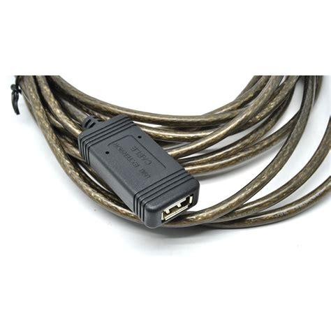 Kabel Usb Banyak kabel ekstensi usb ke 5 meter black