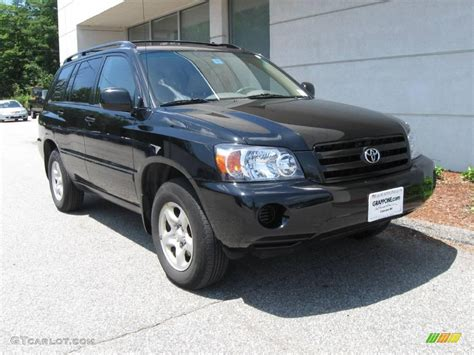 2004 Toyota Highlander Specs 2004 Toyota Highlander Pictures Information And Specs