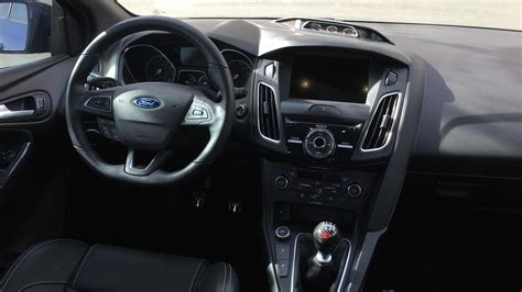 ford st interior ford focus st st3 indepth interior review