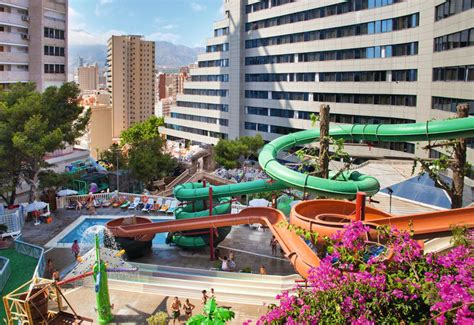 hotel magic aqua rock gardens benidorm spanje