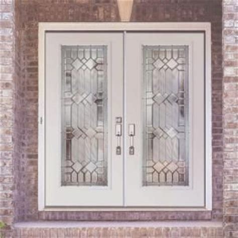 feather river doors mission pointe zinc lite primed smooth fiberglass entry door