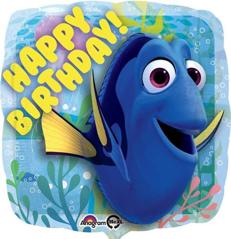 Finding Dory Happy Birthday Large Balloon Party Supplies