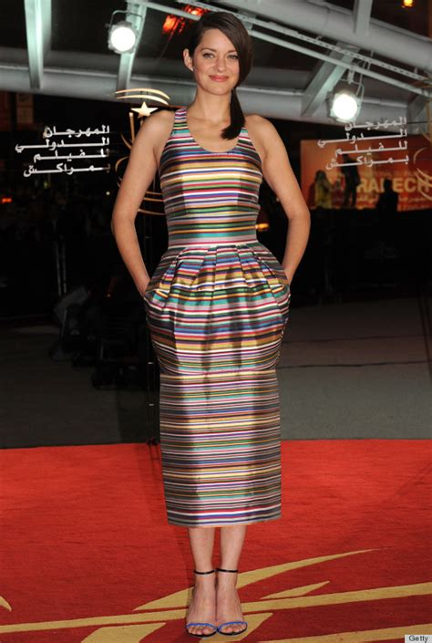 Marion Cotillards Oscar Dress From Runway To Carpet by Marion Cotillard Wears Our Favorite Carpet Style