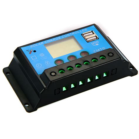 Solar Charge Controller 10a 12v 24vpanel Surya Charger Lcd 10a 12v24v 1 10a auto solar charge controller cmtd10 www newenergyco op co uk