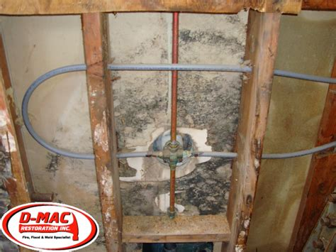 Wall Plumbing by Mold Tub Shower Wall Quest Plumbing Yelp
