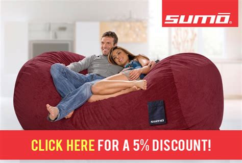 5 Sumo Lounge Coupon A Review Of Their Bean Bag Chairs | 5 sumo lounge coupon a review of their bean bag chairs