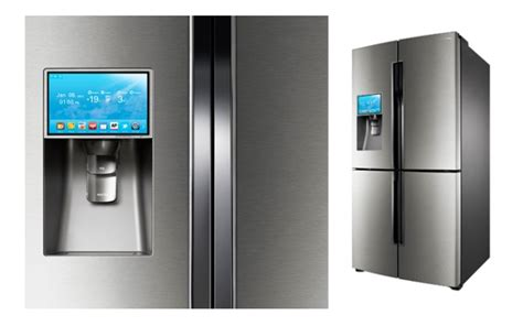 Kulkas Samsung T9000 samsung s t9000 smart refrigerator runs on android
