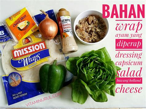 Wrap Untuk Packingan Acc10 1 resepi grilled chicken wrap yang sedap teman kesihatan kecantikan anda