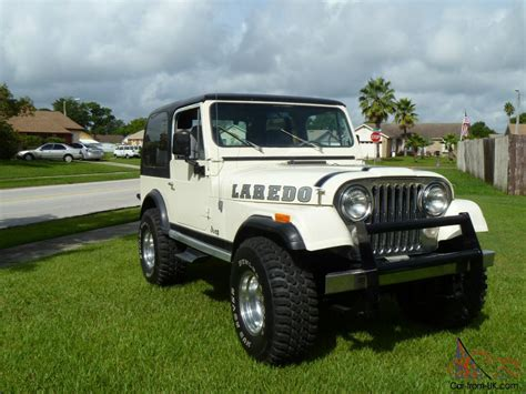 1981 Cj7 Jeep For Sale 1981 Jeep Cj7 Laredo Sport Utility 2 Door 4 2l