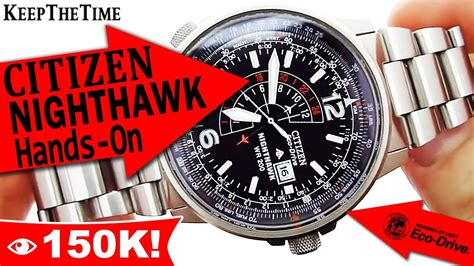 Citizen Nighthawk WR 200 Eco Drive Watch   YouTube