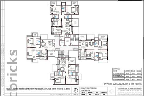 mi casa floor plan marimagnum construction mi casa in undri pune magicbricks