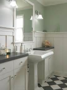 bathroom wainscoting ideas twine how to update a 70 s bathroom