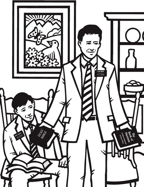 coloring pages christian missionaries lds coloring pages 2018 2009