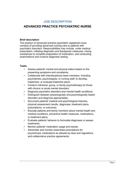 Advanced Registered Practitioner Cover Letter by Registered Nurses Image 3 Enrolled Registered Description Template U2013 9 Free Word