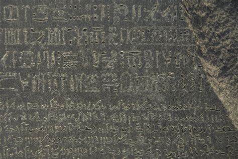 rosetta stone how many languages the rosetta stone at london s british museum uncovering