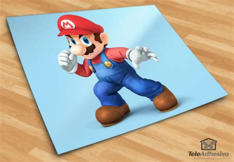 Tokomonster Mario Wall Decal Sticker Size 23 Inch stickers for mario
