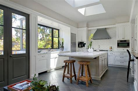 open kitchen floor plans herringbone tile