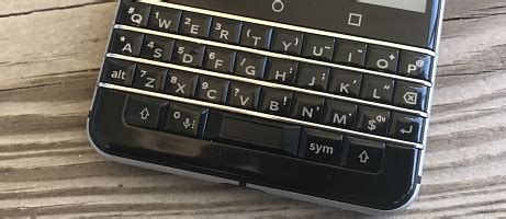 blackberry keyone review: embracing android with a real