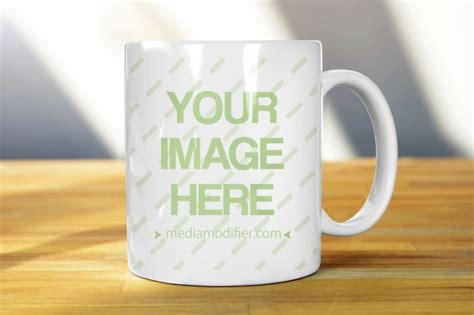 design mug online free free white mug realistic online mockup mediamodifier