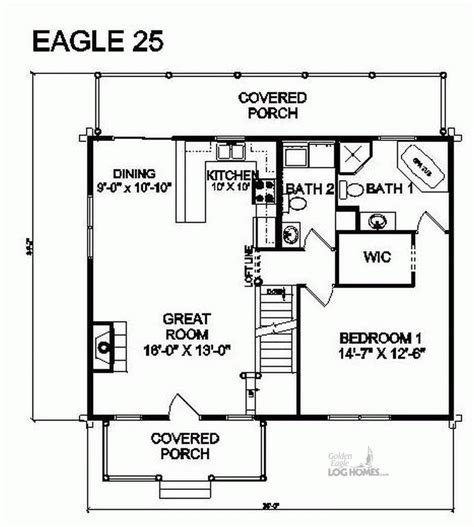 eagle homes floor plans golden eagle log homes floor plan details e 25