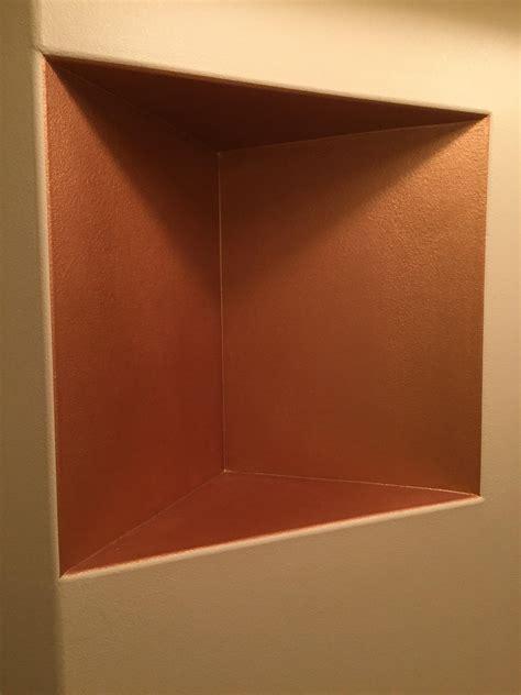 put   entryway recessed shelf