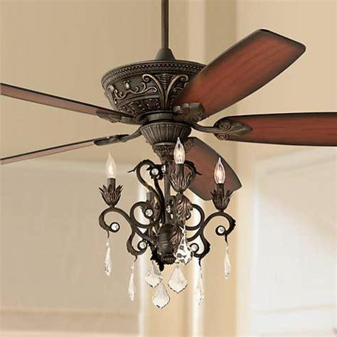 chandelier style ceiling fans 60 quot casa montego bronze chandelier ceiling fan 56358