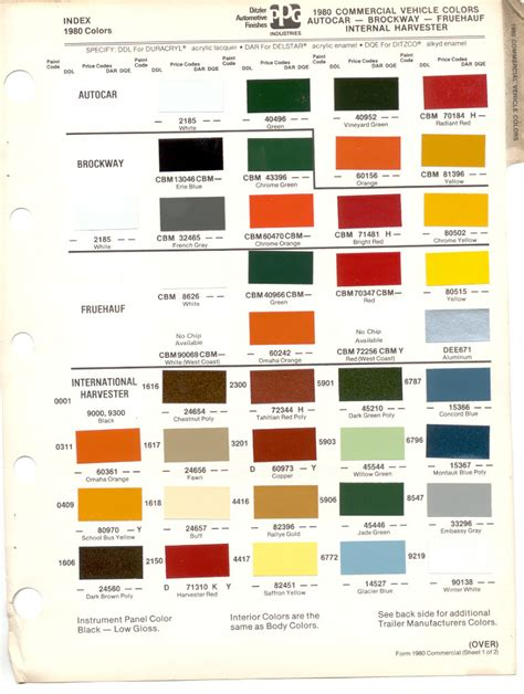 100 international truck paint color codes international ebay 2008 2015 f250 u0026