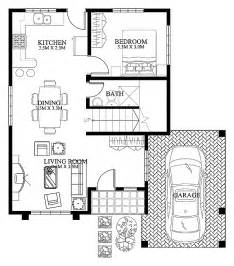 modern floor plans for houses mhd 2012004 pinoy eplans modern house designs small