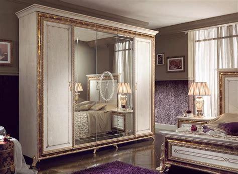 armadi di lusso armadio classico di lusso laccato bianco perlato con