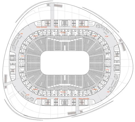 arena floor plan 3xn multi purpose arena