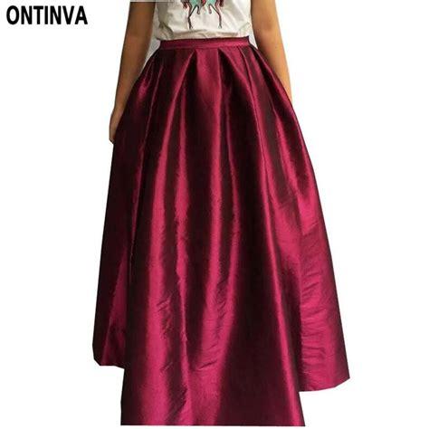 aliexpress buy maxi skirt floor length
