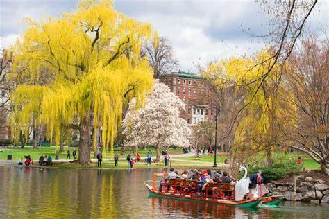 public gardens boston