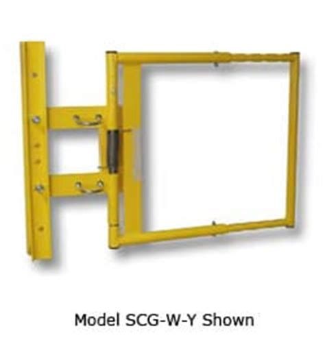 safety swing gates industrial safety gates fall prevention industrial single bar safety