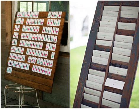 Ideen Zur Hochzeit by Rustikal Hochzeit Hochzeitskarten Tischkarten Ideen