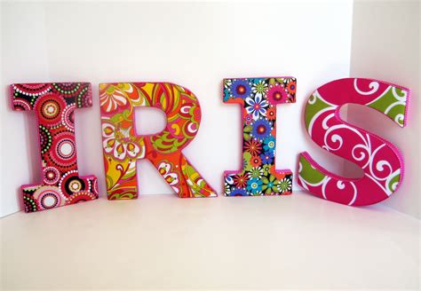 decorated wall letters letters personalized decorative wall in