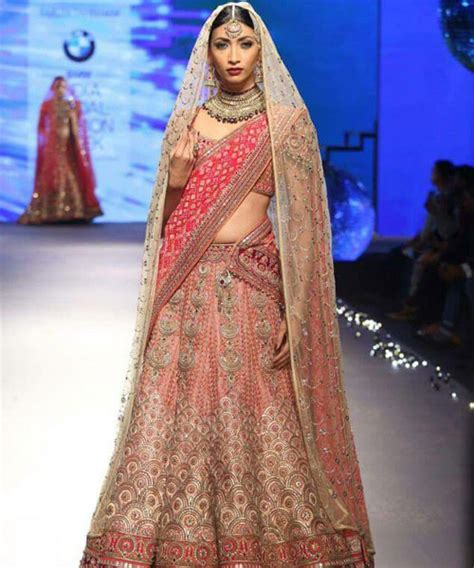 double saree draping double dupatta with bridal lehenga and draping styles