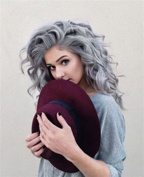 trendy gray hairstyles gray hair trend balayage