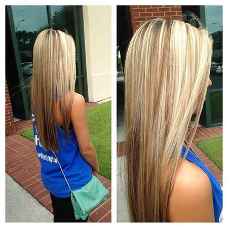 straight blonde hair with brown underneath 30 brown blonde hair color combinations hairstyles
