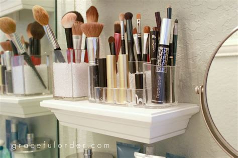 makeup storage ideas for small bathrooms makeup vidalondon