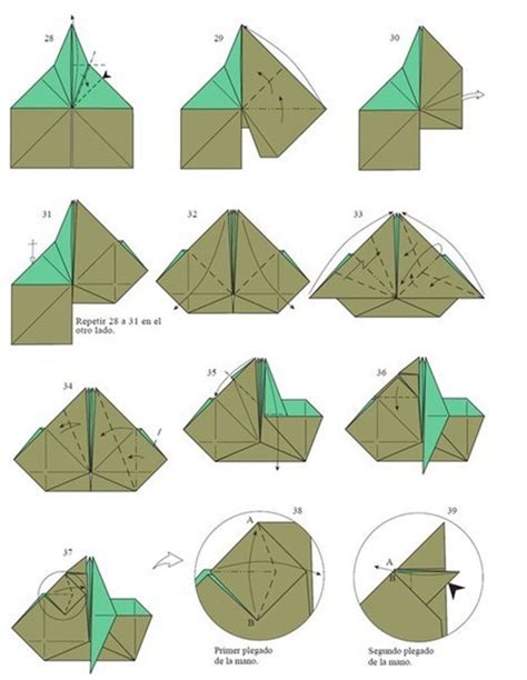 Origami Master - origami jedi master yoda diy is