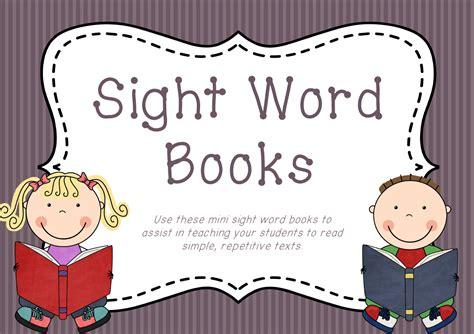 sight a celta novel books lifelong learners mini sight word books