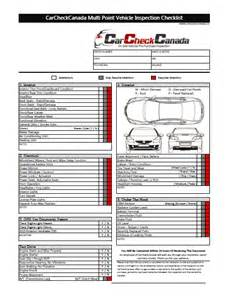vehicle safety checklist template car inspection checklist shopping cars
