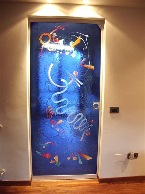 porta decorata porta decorata roma vetroexpert porte in vetro su